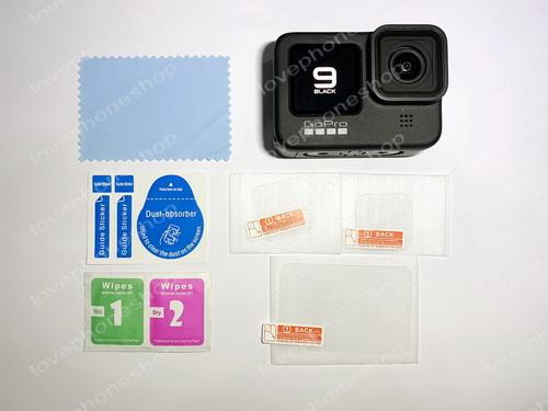 สุดยอดฟิล์มกระจกกันรอย 9H screen protector Film For GoPro Hero 10 Black ,9 Black ส่งฟรี!!