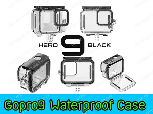 เคสกันน้ำ Gopro Hero 10 Black ,9 Black  Telesin Waterproof Housing Case