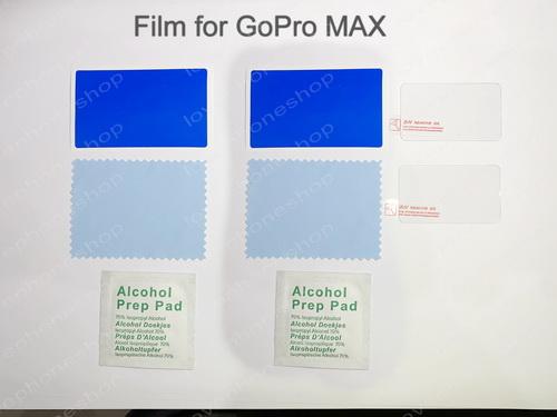 สุดยอดฟิล์มกระจกกันรอย 9H screen protector Film For GoPro MAX ส่งฟรี!!