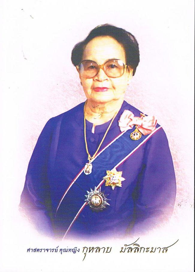 ศาสตราจารย์ คุณหญิง กุหลาบ มัลลิกะมาส (ราชบัณฑิต)