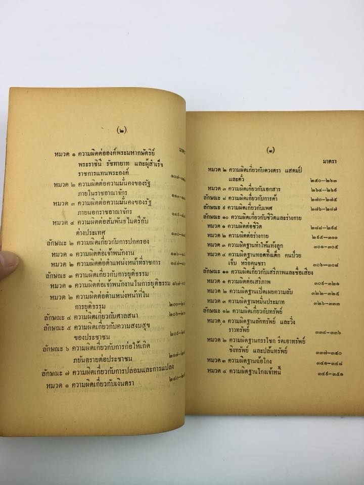 พระราชบัญญัติ ประมวลกฏหมายอาญา 2499  พิมพ์แจกในงาน อนุสรณ์งานศพ นายฉาย เหล่าสุนทร ผู้แต่ง 3