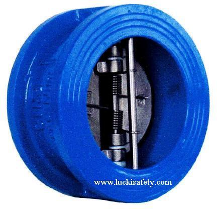 Wafer Check valve วาวล์กันกลับสำรับระบบรับน้ำดับเพลิง