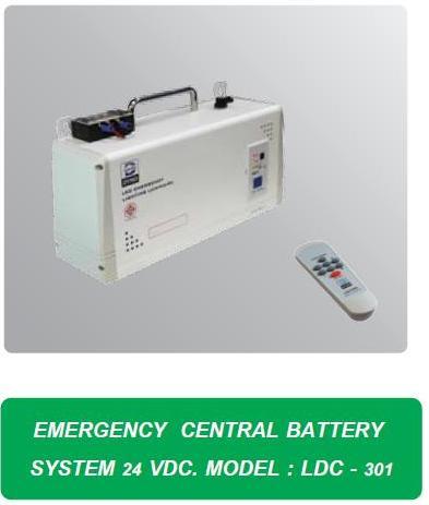 ตู้จ่ายไฟรวมฉุกเฉินพร้อมแบตเตอรี่ LDC-301