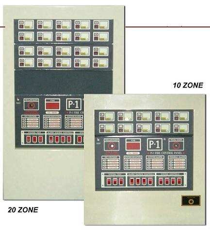 FIRE ALARM CONTROL PANEL 5 ZONE CL-9600