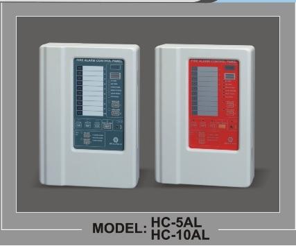 FIRE ALARM CONTROL PANEL 5 ZONE HC-5L