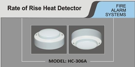 Heat Detector Brand HC 306A