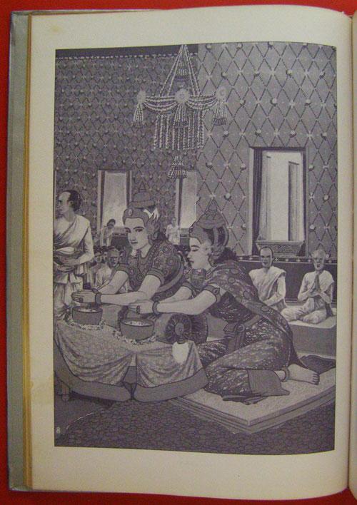 สมุดภาพพระพุทธประวัติ ฉบับ อนุรักษ์ภาพเขียนทางพุทธศาสนา  โดย  ครูเหม  เวชกร 5