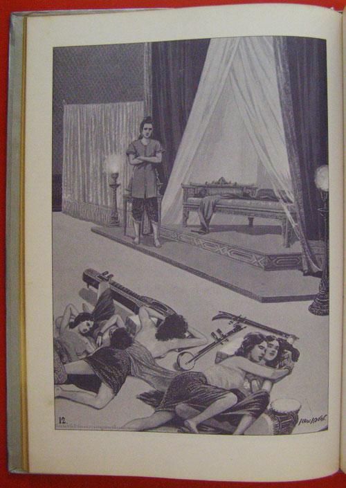 สมุดภาพพระพุทธประวัติ ฉบับ อนุรักษ์ภาพเขียนทางพุทธศาสนา  โดย  ครูเหม  เวชกร 6