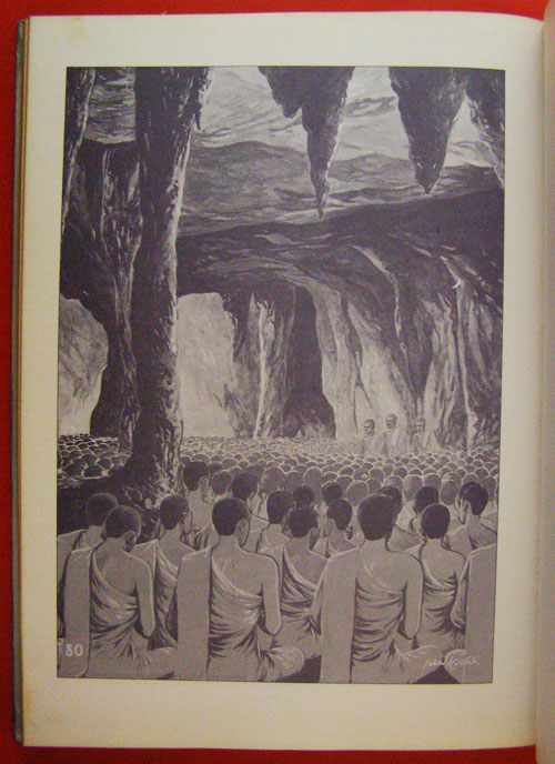 สมุดภาพพระพุทธประวัติ ฉบับ อนุรักษ์ภาพเขียนทางพุทธศาสนา  โดย  ครูเหม  เวชกร 12