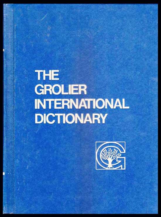 THE GROLIER INTERNATIONAL DICTIONARY (2 เล่ม v-1/v-2)