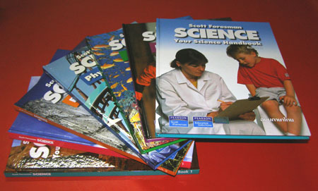 หนังสือชุดวิทยาศาสตร์สำหรับเด็ก  (ชุด 1-2) / Scott Foresman Science ฉบับภาษาไทย