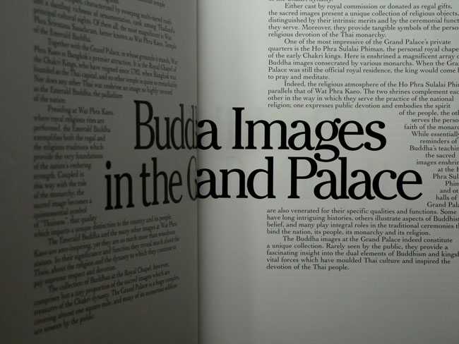 Buddha Images in the Grand Palace / John Hoskin 7