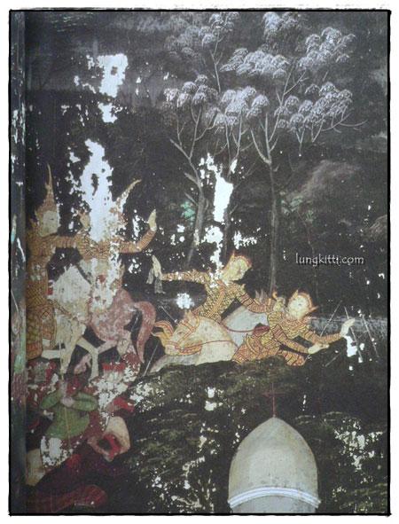 จิตรกรรมฝาผนังในประเทศไทย วัดโสมนัสวิหาร 3