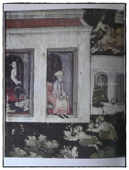 จิตรกรรมฝาผนังในประเทศไทย วัดโสมนัสวิหาร 7