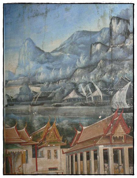 จิตรกรรมฝาผนังในประเทศไทย วัดปทุมวนาราม 5