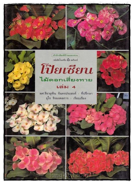 โป๊ยเซียน : ไม้ดอกเสี่ยงทาย (เล่ม 4)