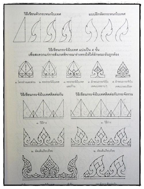แบบหัดเขียนภาพลายไทย ฉบับสมบูรณ์ 7