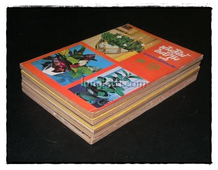 พันธ์ไม้ในบ้าน และ การประดับตกแต่ง (เล่ม 1,2, 3, 4, 7, 8,) รวม 6 เล่ม 8