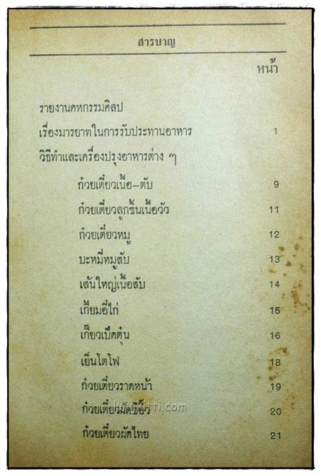 ตำรากับข้าวไทย คาว – หวาน 400 ชนิด 3