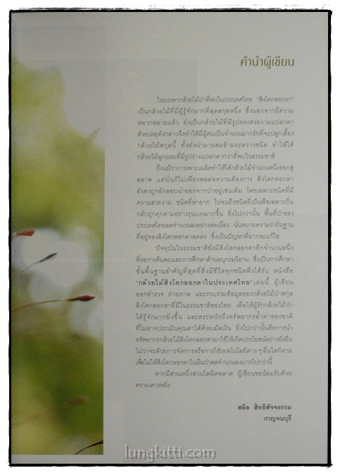 กล้วยไม้สิงโตกลอกตาในประเทศไทย / สลิล สิทธิสัจจธรรม 2