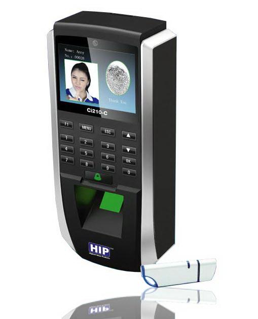 HIP Ci210C Fingerprint Access Control Terminal with Cameraรองรับ 1,000 ลายนิ้วมือ 1