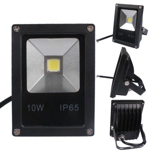 สปอร์ตไลท์Slim 10W 220V LED Floodlight Black IP65 Cool