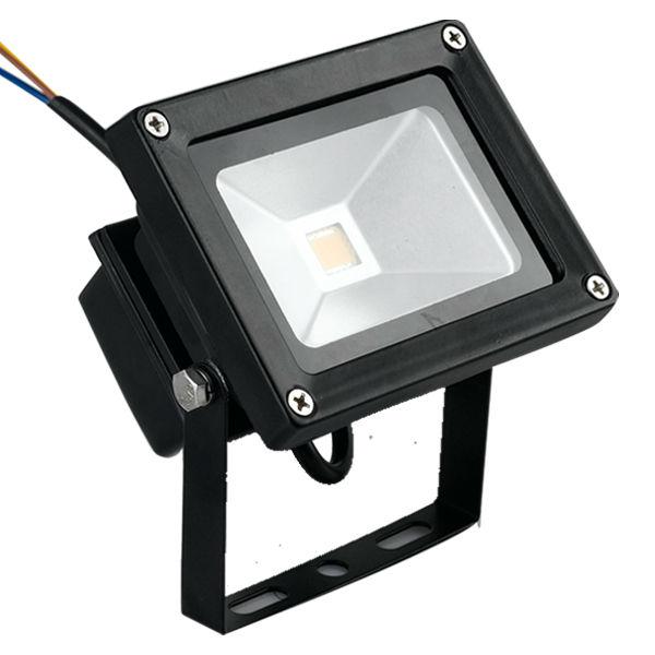Flood Light LED 10W ไฟส่องอาคาร 220 VDC