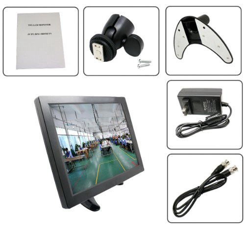 LCD Monitor 10.1 inch TFT with AV , VGA and HDMI  รุ่น H1008  รับประกัน 1 ปี 2