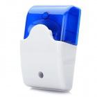 Mini Siren With Half Strobe Housing - ฺBlue