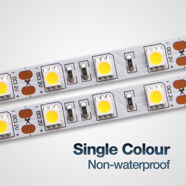 ไฟตู้โชว์ LED Strip Light Ribbon ไฟ LED สายอ่อนไม่กันน้ำ ม้วนละ