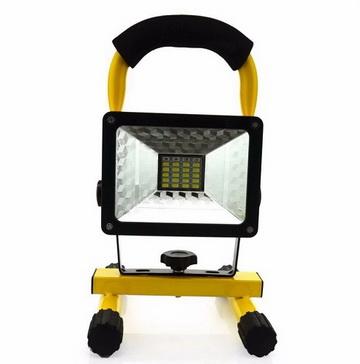 ไฟสปอร์ตไลท์ LED 30 W พกพา ชาร์จไฟบ้าน ฯลฯ