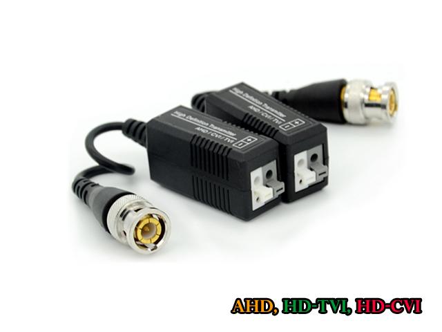 บาลันสำหรับกล้อง AHD, HD-TVI, HDCVI, ANALOG ระยะ 300 ม. (แพคคู่ 2 ตัว)