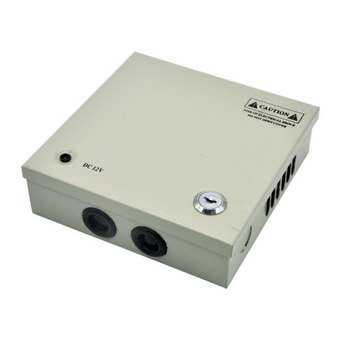 Power Supply สำหรับกล้องวงจรปิด 4 ตัว เพื่อยืดอายุการใช้งานของกล้องวงจรปิด ฯลฯ 1