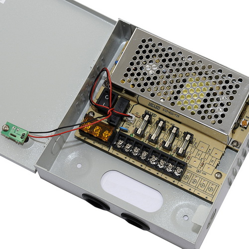 Power Supply สำหรับกล้องวงจรปิด 4 ตัว เพื่อยืดอายุการใช้งานของกล้องวงจรปิด ฯลฯ 2