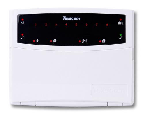Texecom Premier Keypads RKP8Plus LED Keypad