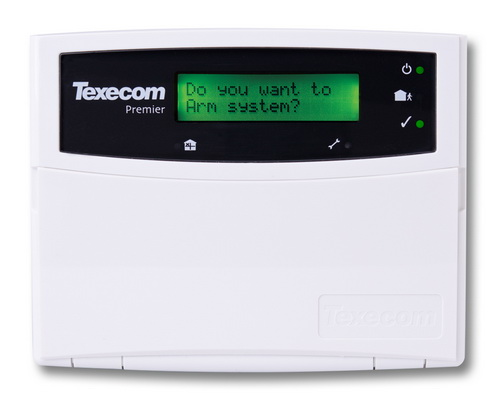 Texecom Premier LCD Keypad ฯลฯ