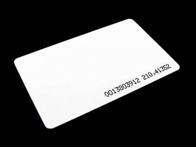 Mango Proximity Card 0.8 mm  ( เล็ก )  แบบบาง เท่ากับบัตรประชาชน 1