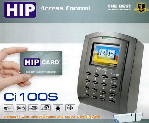 Ci100 HIP Access Controlควบคุมการเปิด-ปิดประตู+อุปกรณ์ประตูชุดโปรโมชั่น 1