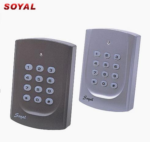 SOYAL AR721 ประตูทางเข้า หอพัก อพาร์ทเม้นท์ คอนโด โรงแรม รองรับบัตรได้ถึง 999 ใบ รับประกัน 1 ปี 1