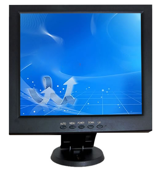 TFT 12 Inch LCD Monitor with AV/ VGA / HDMI  รับประกัน 1 ปี 2