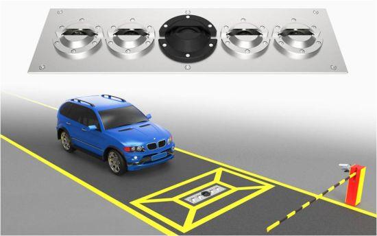 VSCN3300 ระบบสแกนภาพใต้ท้องรถแบบฝังใต้พื้น  under vehicle inspection system