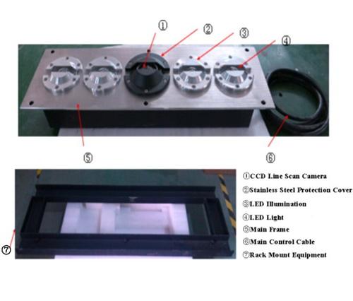 VSCN3300 ระบบสแกนภาพใต้ท้องรถแบบฝังใต้พื้น  under vehicle inspection system 4