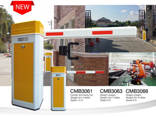 GATE BARRIER CMฺB3063 แขนกั้นความยาวได้ 4 เมตร ราคาถูก 2