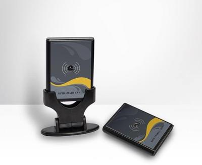 บัตรผ่านระยะไกล 1-20 เมตร ( Bluetooth ) ใช้กับระบบไม้กั้นรถยนต์