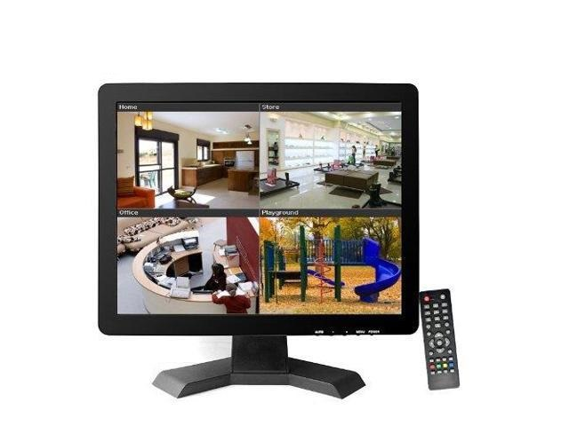 LCD Monitor 15 inch AV / BNC / PC / TV / Audio / HDMI / USB   พร้อมอุปกรณ์ รับประกัน 1ปี 5