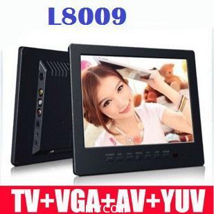 TFT LCD MONITOR COLOR AV,VGA,PC รุ่น L8009  รับประกัน 1 ปี 4