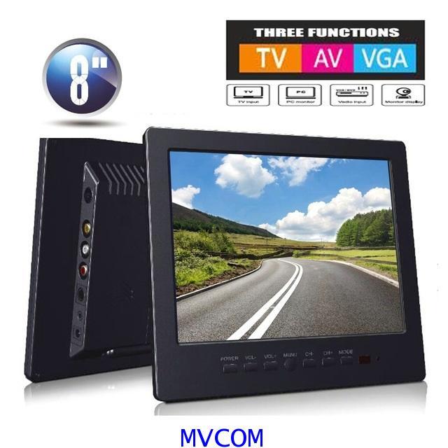 TFT LCD MONITOR COLOR AV,VGA,PC รุ่น L8009  รับประกัน 1 ปี 5