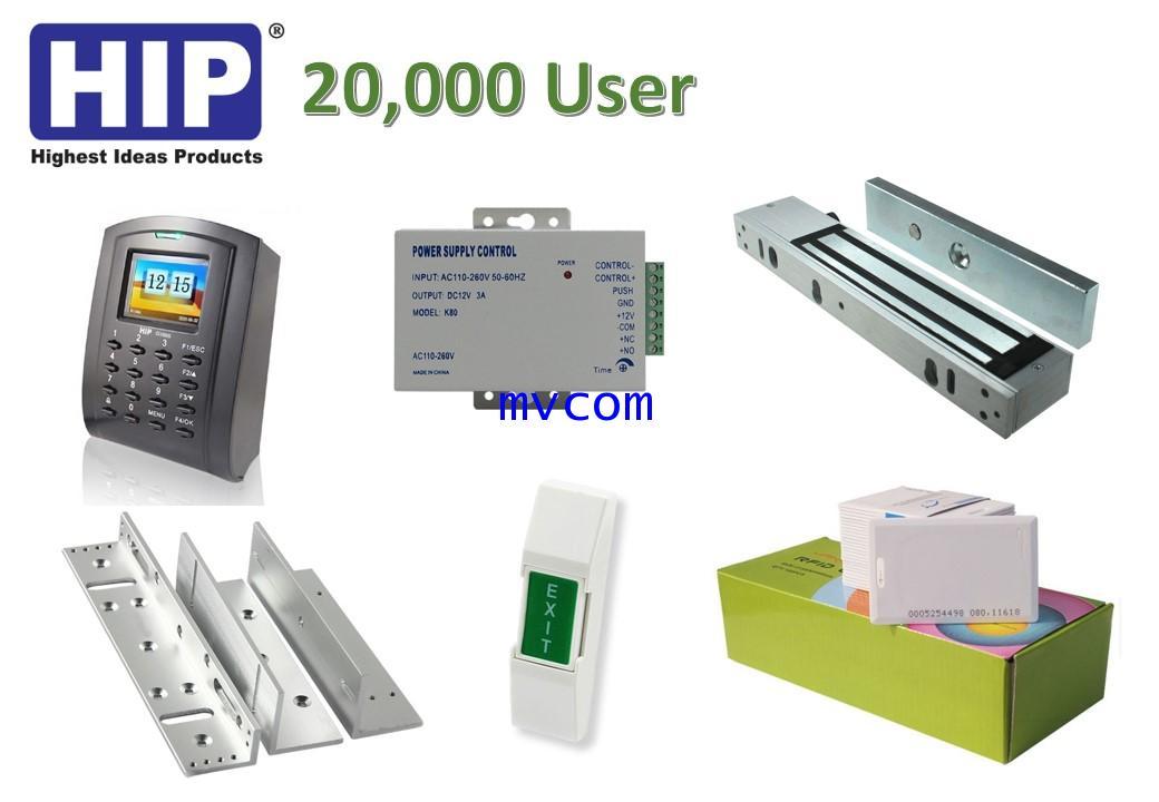 Ci100S เครื่องทาบบัตร HIP Access Control พร้อมอุปกรณ์ประตู ชุดโปรโมชั่น รับประกัน 2 ปี