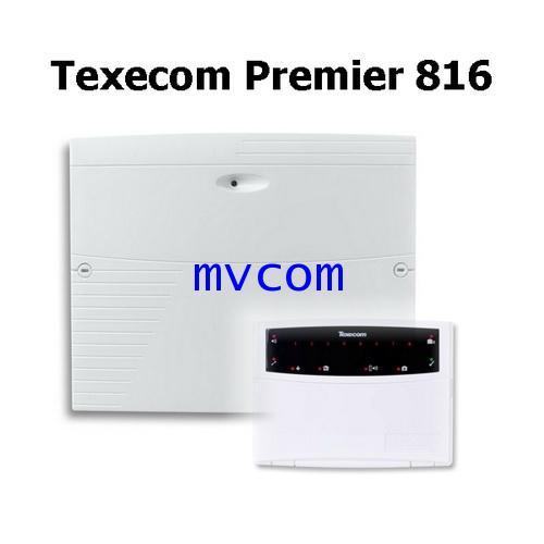สัญญาณกันขโมยแบบเดินสาย Texecom รุ่น Premier 816 จากประเทศอเมริกา รับประกัน 2 ปี ชุดโปรโมชั่น