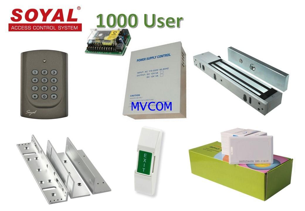 Access Control Soyal ชุดประตูเปิด/ปิดห้องพัก อพาร์เมนท์ คอนโดมิเนียม โปรโมชั่น ( ฟรีค่าติดตั้ง )